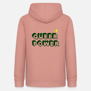 Lgbt Queer Power - Sweat à capuche Femme