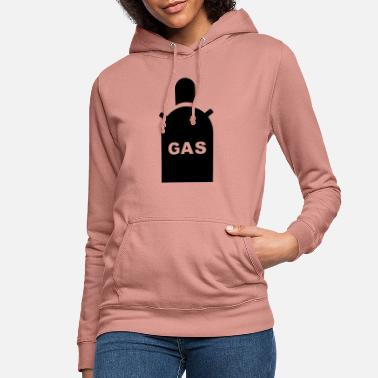 Gas Mask Gas, gas mask - Women's Hoodie