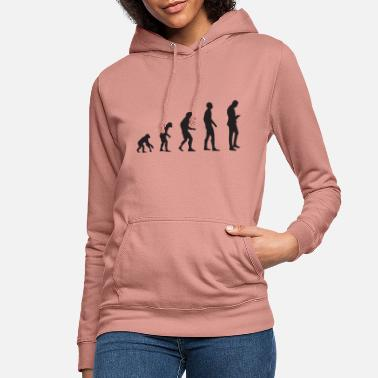 Mobile Evolution shirt for mobile phone (smartphone) - Women's Hoodie