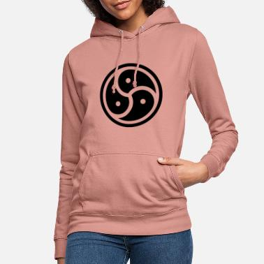 Symbol bdsm bondage fetish latex mistress symbol dominates - Women's Hoodie