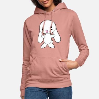 Cute Cartoon Cute Cartoon Bunny - Sweat à capuche Femme