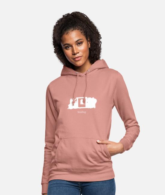 Engagement Hoodies & Sweatshirts - wedding 2 - Women's Hoodie dusky rose