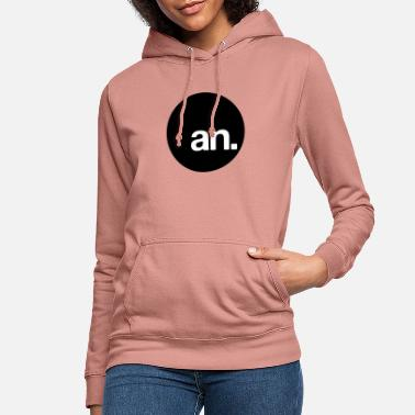 Lowercase art noise. logo. lowercase. - Women's Hoodie