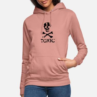 Grungy Grungy Warning Sign – Toxic - Women's Hoodie