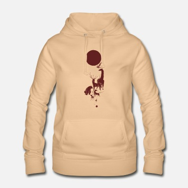 Animal Liberation The Liberation - Unique Gift Idea - rosso - Felpa con cappuccio da donna