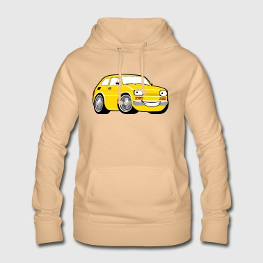 Racing car toddler yellow - Women's Hoodie