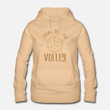 Volley Non posso volley - Felpa con cappuccio da donna