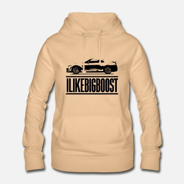 I LOVE BOOST TURBO TURBOLADER TURBOCHARGER 0021 - Frauen Hoodie
