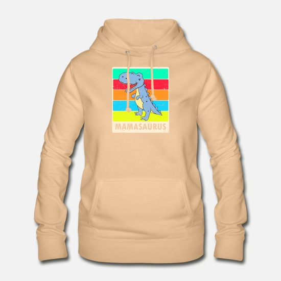 Mother Hoodies & Sweatshirts - Mamasaurus - Women's Hoodie peach