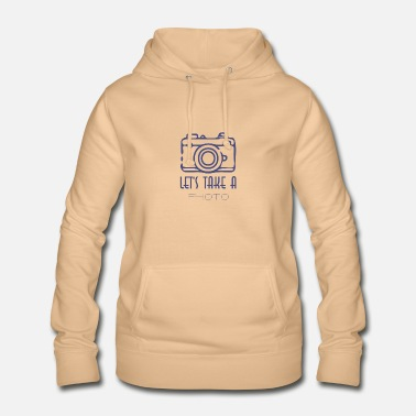 Permet de prendre une photo T-shirt - Sweat à capuche Femme