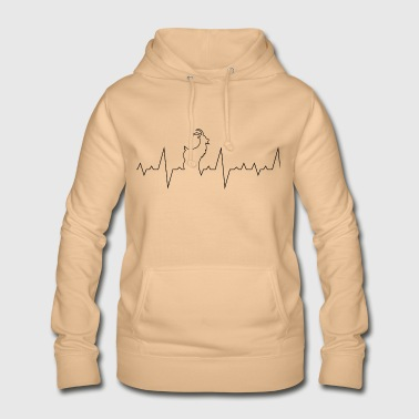 Heartbeat for goats - Women's Hoodie