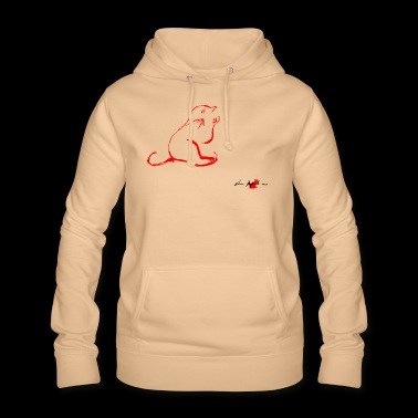 RED CAT propre, propre LE CAT, - Sweat à capuche Femme