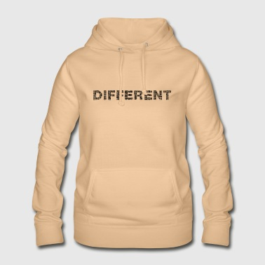 different, different - Women's Hoodie