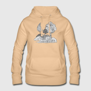 The garden of Elise - Women's Hoodie