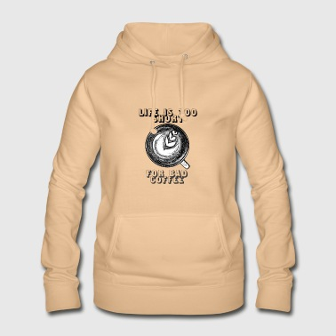 Coffee - Motto - Vrouwen hoodie
