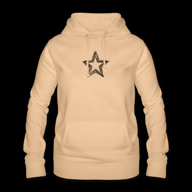 Star black star t shirts - Women's Hoodie