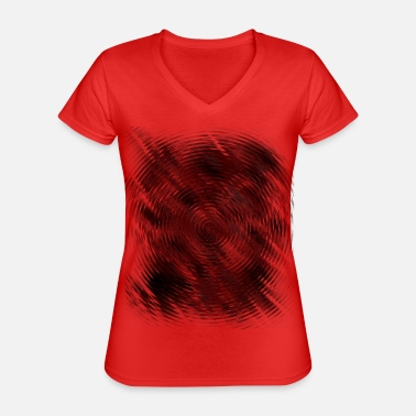 Dark Wave Dark wave blunder - Classic Women's V-Neck T-Shirt