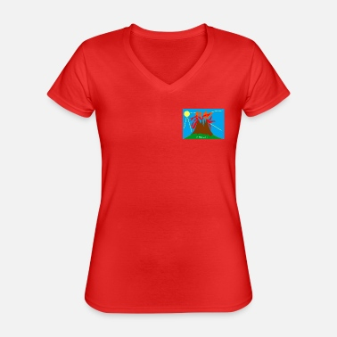 La Réunion A Nou LA! Day - Classic Women's V-Neck T-Shirt