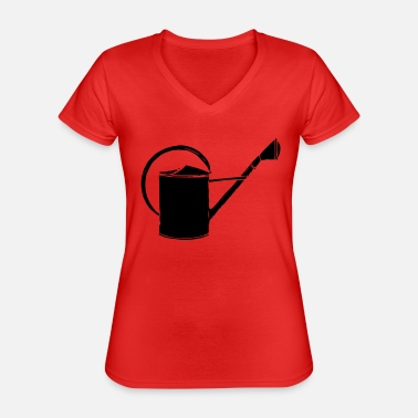 Watering Can watering can - Classic Women's V-Neck T-Shirt