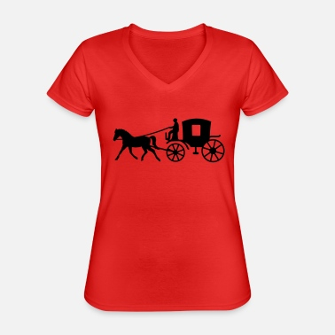 Vehicle vehicle - Classic Women's V-Neck T-Shirt