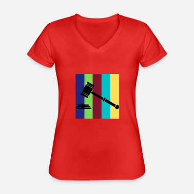 Judge - Classic Women's V-Neck T-Shirt