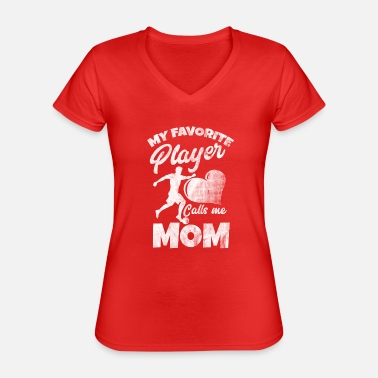 Soccer Mum Shirt for soccer mum - Classic Women's V-Neck T-Shirt