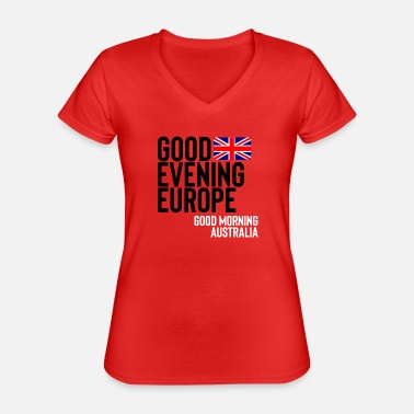 Contest uk - Classic Women's V-Neck T-Shirt