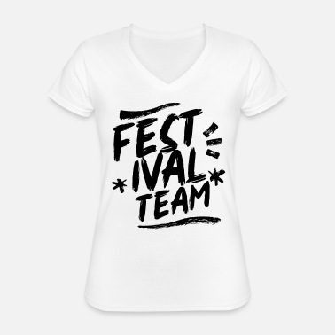 Present Festival team - Classic Women's V-Neck T-Shirt