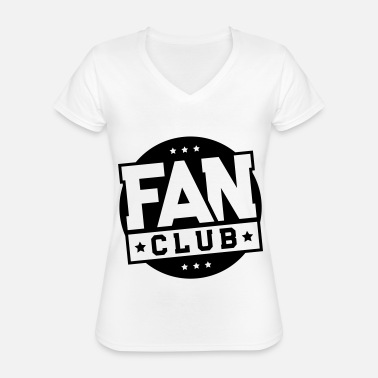 Fan Club fan club - Classic Women's V-Neck T-Shirt