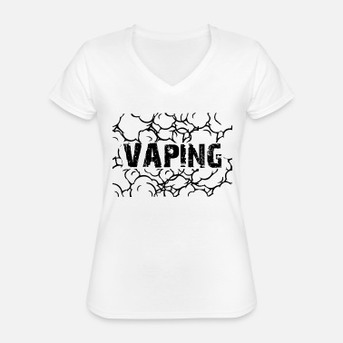 Vaping 3 - Classic Women's V-Neck T-Shirt