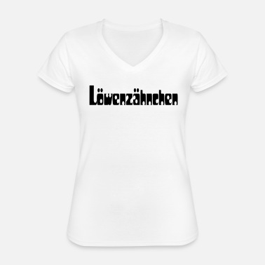Spitznahme loewenzähnchen - Classic Women's V-Neck T-Shirt