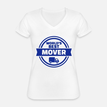 Movers Best mover - Classic Women's V-Neck T-Shirt