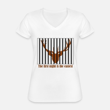 Sentence the sentence of marriage - Classic Women's V-Neck T-Shirt