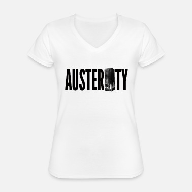 Grenfell Tower Austerity Grenfell Tower - Classic Women's V-Neck T-Shirt