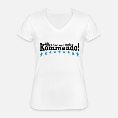Commander Command - Classic Women's V-Neck T-Shirt