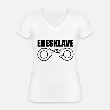 Marriage Slave before slave - Classic Women's V-Neck T-Shirt
