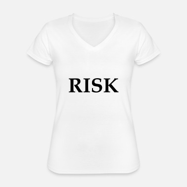 Norisk RISK - Classic Women's V-Neck T-Shirt