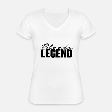 Lazarbeam Bloody Legend Bloody Legend Lazarbeam - Classic Women's V-Neck T-Shirt