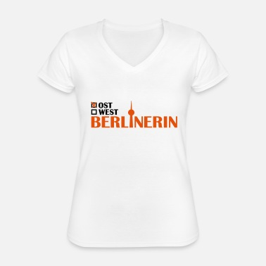 East Berlin East Berlin woman - Classic Women's V-Neck T-Shirt