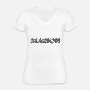 Name Day Marion name first name name day - Classic Women's V-Neck T-Shirt