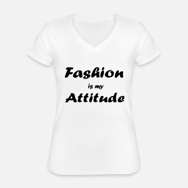 Fashionable fashion - Classic Women's V-Neck T-Shirt