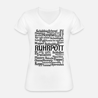 Ruhr City Ruhr - Classic Women's V-Neck T-Shirt