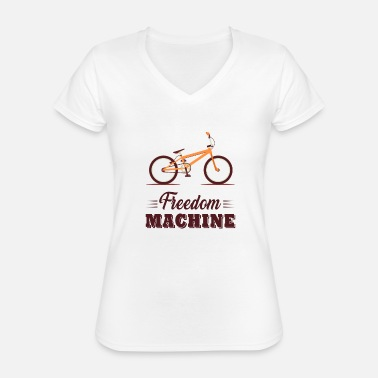 Bicycle cycling - Classic Women's V-Neck T-Shirt