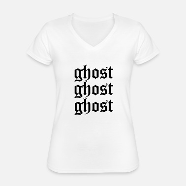 Ghost Ghost ghost ghost - Classic Women's V-Neck T-Shirt