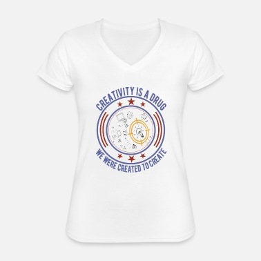 Creative Creative creativity - Classic Women's V-Neck T-Shirt
