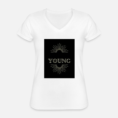 Young YOUNG - Classic Women's V-Neck T-Shirt