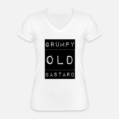 Grumpy In The Morning Grumpy - Classic Women's V-Neck T-Shirt