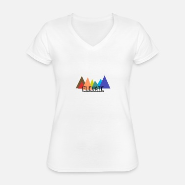 Elevator Elevated to the Mountains - Classic Women's V-Neck T-Shirt