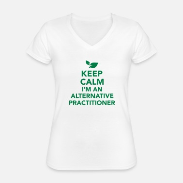 Alternative Alternative practitioner - Classic Women's V-Neck T-Shirt