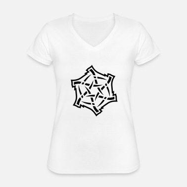 Form Underwear psycosun_201107_light - Classic Women's V-Neck T-Shirt